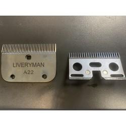 Jeu de peignes A22 - Liveryman